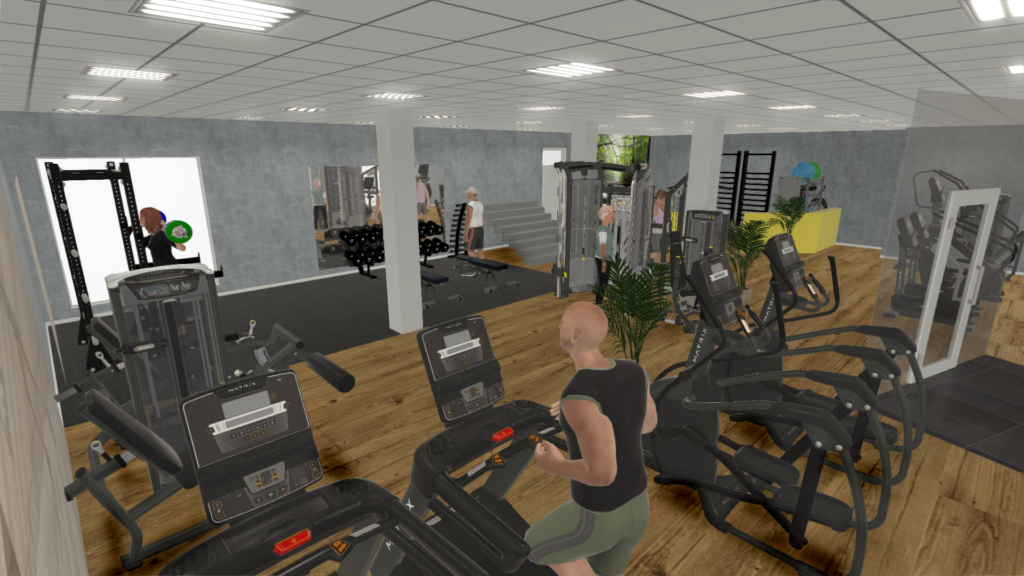 Fitness center i Ålbæk. Åbner start 2021